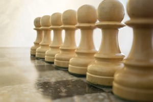 Chess White Pawns Chess Board Pawns Game Parts